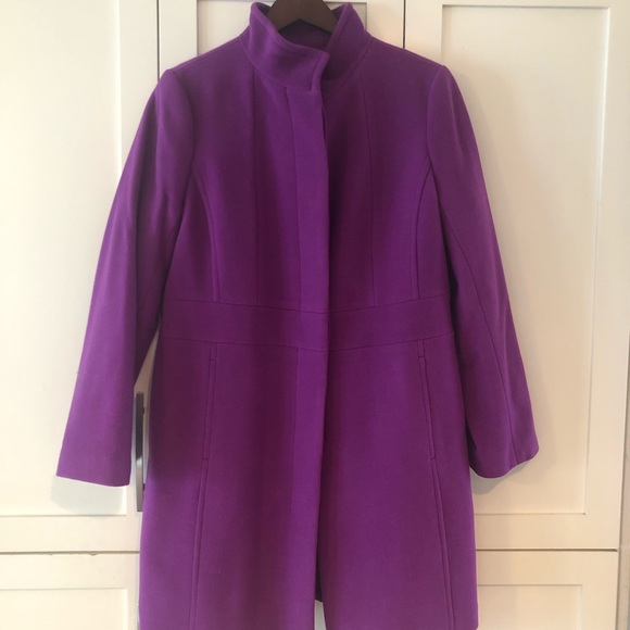 Talbots Jackets & Blazers - Talbots Purple/Pink Peacoat New/no Tags